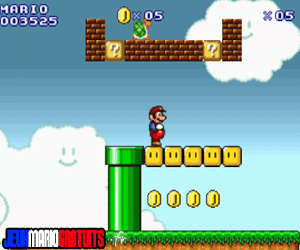 Jeux super Mario flash